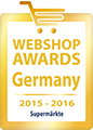 Webshop Award Germany 2015-2016 - Qualitätssiegel