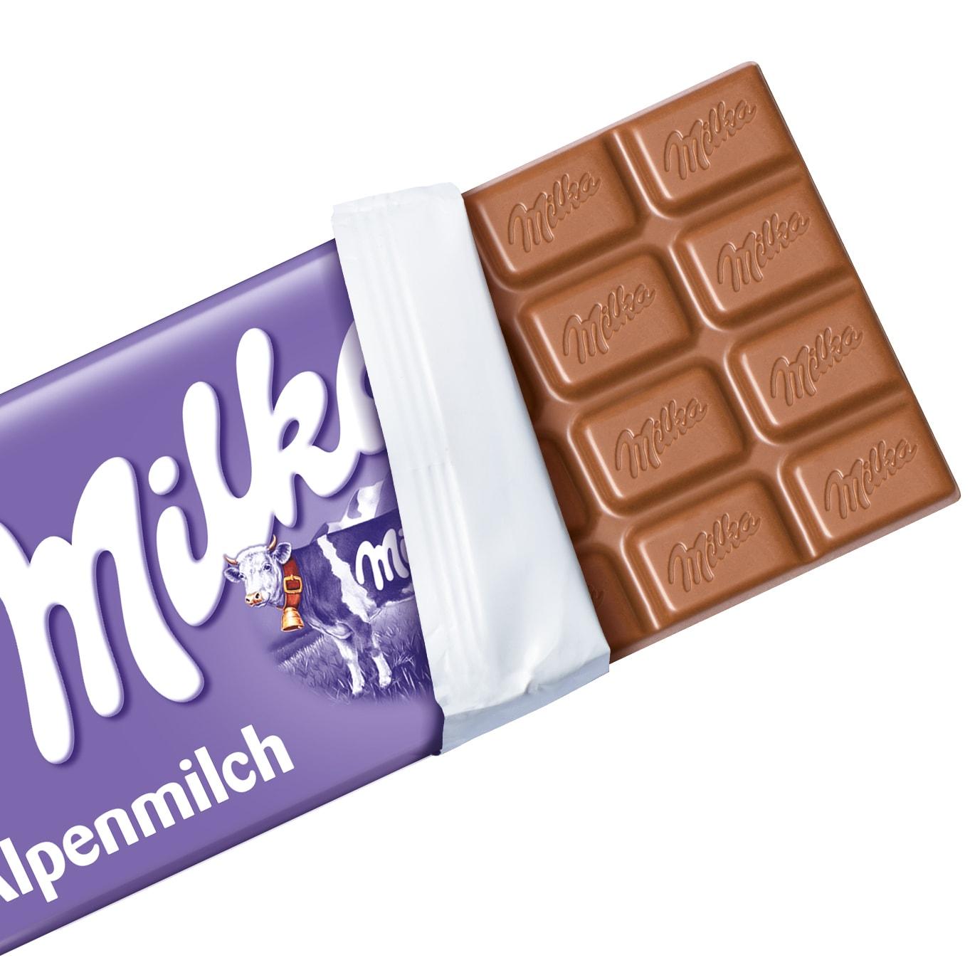 Milka Tafel Alpenmilch 100g