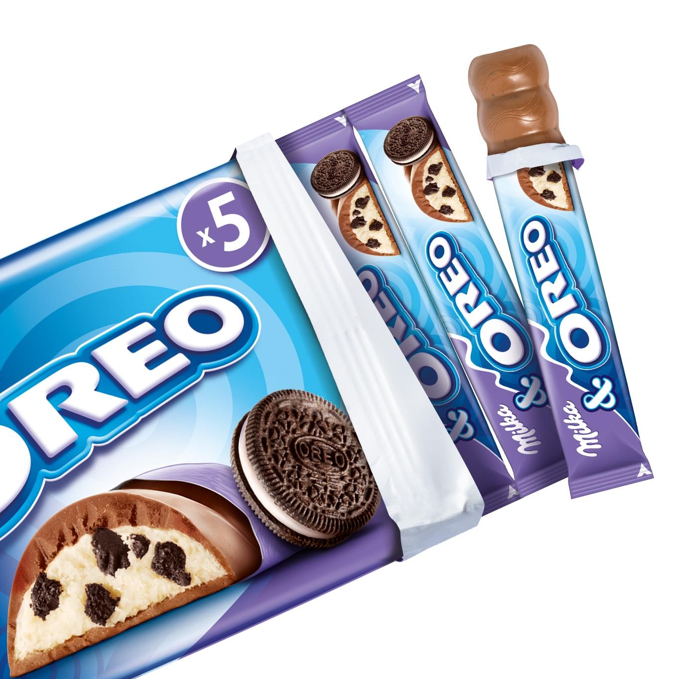 Milka Oreo Riegel 185g 5 Stuck Bei Rewe Online Bestellen