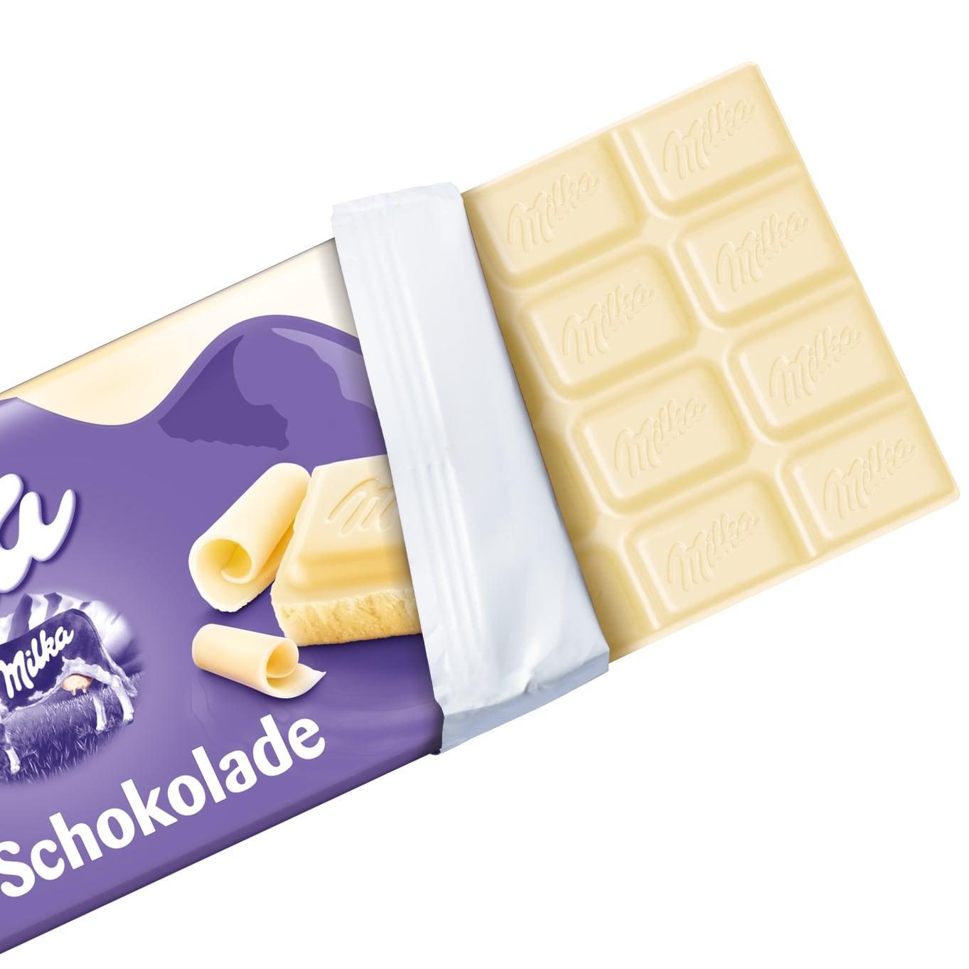 Milka Tafel Weisse Schokolade 100g Bei Rewe Online Bestellen