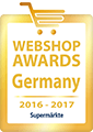 Webshop Award Germany 2016-2017