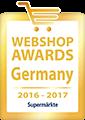 Webshop Award Germany 2016-2017